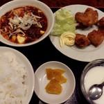 97486925 - 7、麻婆豆腐、半鶏の唐揚げ¥780-