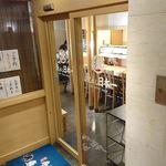 寿司 魚がし日本一 - 寿司 魚がし日本一 茅場町店 地下1階にある店舗出入口
