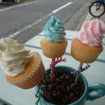 ON THE WAY, Cupcakes&Coffee Shop  - スティック ミニ カップケーキ(3P)②