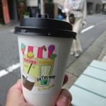 ON THE WAY, Cupcakes&Coffee Shop  - ドリップコーヒー②
