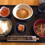 97489207 - 天然鯛の胡桃醤油定食
