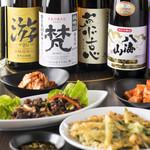 肉と韓国料理 たつりき - 日本酒