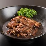 肉と韓国料理 たつりき - 名物、熟成たれカルビ