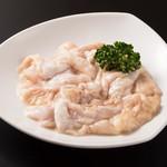 肉と韓国料理 たつりき - 名物、塩ホルモン