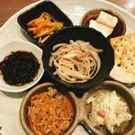 食遊爛漫 沖楽 - 料理写真:はいさいセット/ 1200円