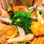アジアごはんとおはぎ 善 - ランチの前菜