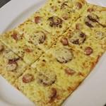 MKYアメリカンレストラン - 『サラミ&ソーセージピザ』