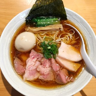 麺屋 さくら井 - 料理写真:特製らぁ麺 醤油