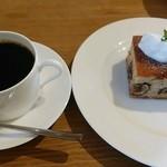 97494670 - コーヒー&栗とラム酒のケーキ