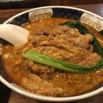 支那麺 はしご - 排骨担々麺
