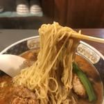支那麺 はしご - 細麺