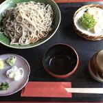 蕎鈴庵 - 料理写真:さらそば