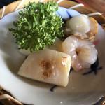 蕎鈴庵 - 海老、帆立、蒲鉾
