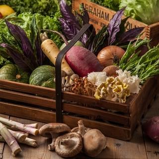 単品でお肉やお野菜のご注文が可能♪