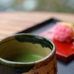 虎屋菓寮 - お抹茶
