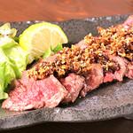 肉酒場 閑太郎 - ハラミステーキローテッドフライ