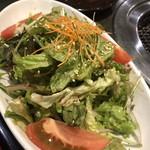 焼肉 志も川 - チョレギサラダ。味付けは薄目