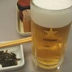 97499013 - サッポロ生ビール(中) 580円 ♪