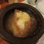 オールド ヒッコリー - オニオングラタンスープ