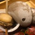 日本料理 錦りゅう - 巨大バイ貝