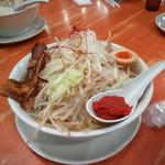 麺や来味 - 肉来二郎(辛にんにく)