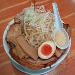 麺や来味 - 料理写真:肉来二郎(にんにく)