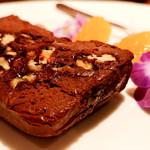 テンアンドハーフカフェ - チョコレートテリーヌ