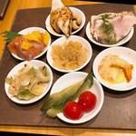 mezonchainaumemoto - 前菜7種盛り合わせ