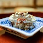 木山 - ☆コッペがにの飯蒸し