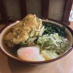 97511361 - 朝そば+えびかき揚げ!