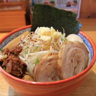 麺の樹 ぼだい - 料理写真:「ジミヘン」全部のせ