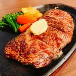 ジャンボステーキ ハンズ - 225グラムのチルドビーフステーキ(1.800円)