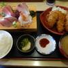 磯人 - 料理写真:岩手産の生カキフライ定食