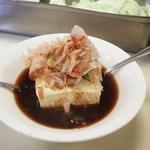 串かつ百百 - 湯豆腐