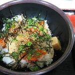豆腐茶屋がんこ - 豆腐キムチ丼