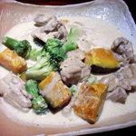 甘太郎 - かぼちゃと鶏肉のクリームソース