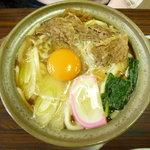食事処 きくち - すきやきうどん(880円)