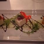 エアーズ イタリアン キュイジーヌ - 前菜① ホタテとパプリカのムース