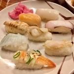 焼肉&グルメバイキングかたおか - 寿司たち