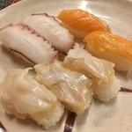 焼肉&グルメバイキングかたおか - つぶ貝が美味しかったです