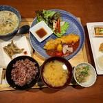 一旬 - 高知産たっぷり野菜 八穀米ランチ