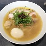 Japanese Soba Noodles 蔦 - 「塩Soba」1000円+味玉