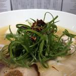 Japanese Soba Noodles 蔦 - 九条ネギ、ドライトマト