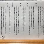Japanese Soba Noodles 蔦 - 具材について