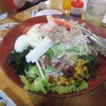 大衆酒蔵 日本海 - 日本海サラダ(2018.10.26)