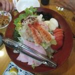 大衆酒蔵 日本海 - サラダ上から(2018.10.26)