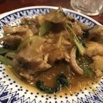中華料理 八戒 - あんこうの春雨煮込み