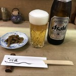 Kawayodo - 瓶ビール頼んだら鉄砲漬け付いてきますよ!