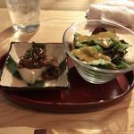 鉄板焼 澄み藤 - 前菜