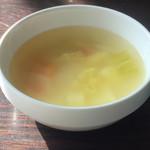 びーあん - コンソメスープ